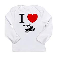 Stunt Riding Long Sleeve Infant T-Shirt