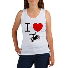 Stunt Riding Women's Tank Top