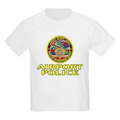 Honolulu Airport Police Kids T-Shirt