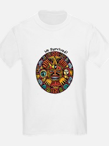 We Survived!2012 Mayan Calendar T-Shirt