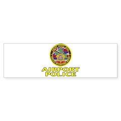 Honolulu Airport Police Bumper Sticker