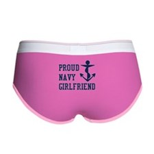 navy girlfriend Women's Boy Brief