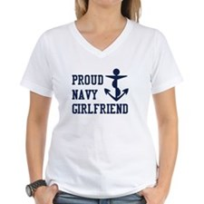 navy girlfriend Shirt