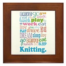 Knitting Framed Tile