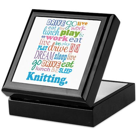 Knitting Keepsake Box
