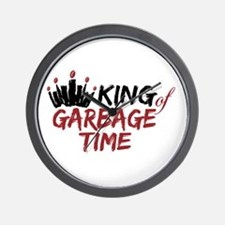 King of Garbage Time Fantasy Football Wall Clock