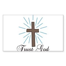 Trust God Decal