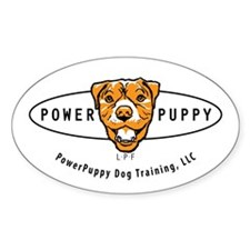 powerpuppy_logo_title_oval112312 Decal