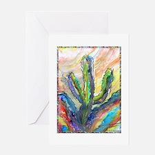 Cactus, southwest art! Greeting Card
