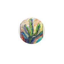 Cactus, southwest art! Mini Button
