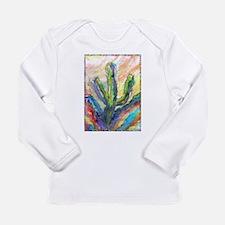 Cactus, southwest art! Long Sleeve Infant T-Shirt