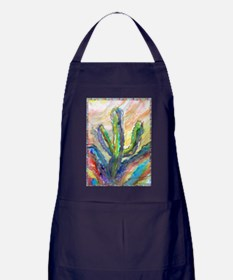 Cactus, southwest art! Apron (dark)