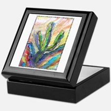Cactus, southwest art! Keepsake Box