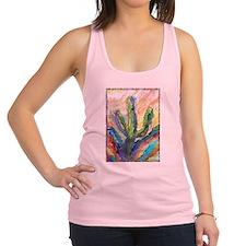 Cactus, southwest art! Racerback Tank Top