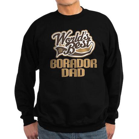 Borador Dog Dad Sweatshirt (dark)