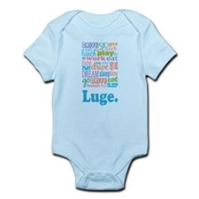 Luge Infant Bodysuit