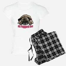 Puggerd out Pajamas
