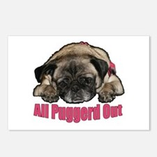 Puggerd out Postcards (Package of 8)
