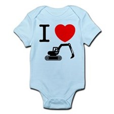 Excavator Infant Bodysuit