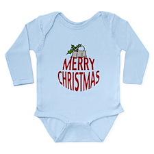 Merry Christmas Long Sleeve Infant Bodysuit