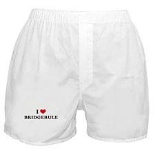 I HEART BRIDGERULE  Boxer Shorts