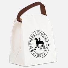 Sleipnir tshirt 10 by 10.png Canvas Lunch Bag
