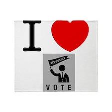Politician Throw Blanket