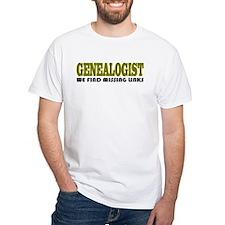 Genealogist Missing Links Shirt