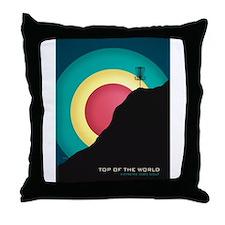 Extreme Disc Golf Throw Pillow