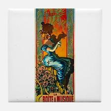 ART NOUVEAU Tile Coaster