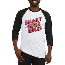 Smart Girls Rule! Baseball Jersey