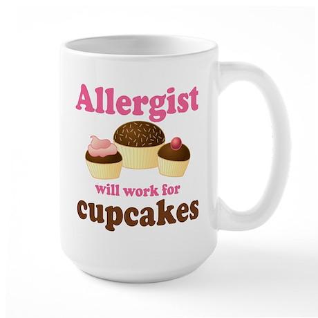 Allergist Cupcakes Large Mug