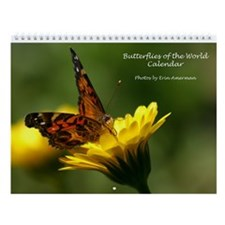 Butterflies Of The World Wall Calendar
