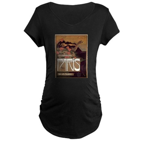 ART NOUVEAU Maternity Dark T-Shirt