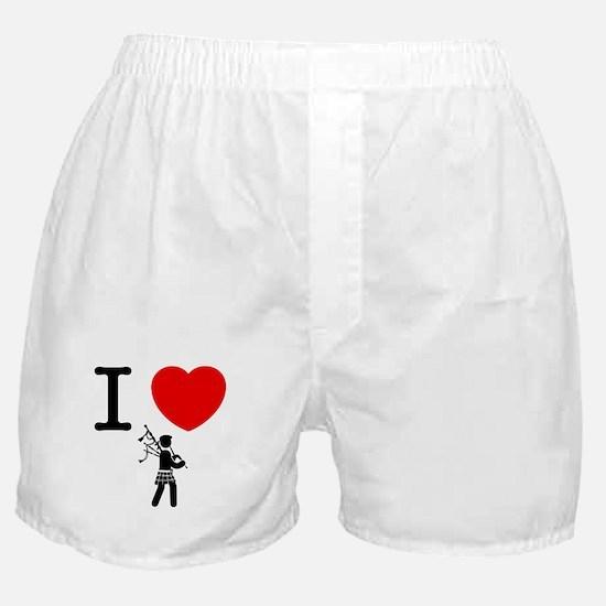 Bagpiper Boxer Shorts