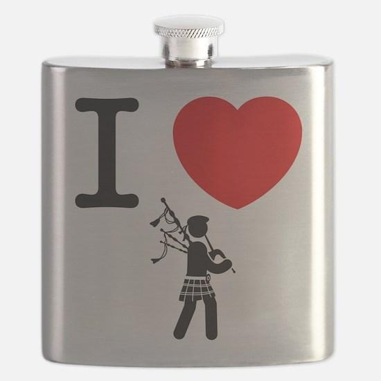 Bagpiper Flask