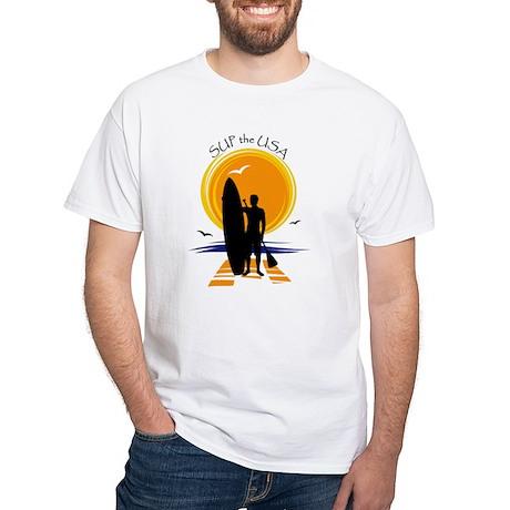 SUP SUN White T-Shirt