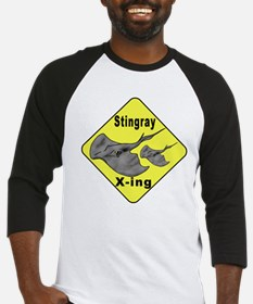 Singray Crossing Baseball Jersey