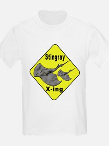 Singray Crossing Kids T-Shirt