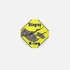 Singray Crossing Mini Button