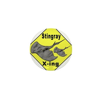 Singray Crossing Mini Button (100 pack)