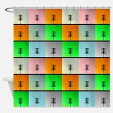 A Bunch of Baskets Shower Curtain