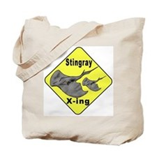 Singray Crossing Tote Bag