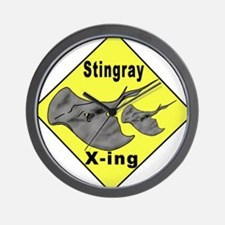 Singray Crossing Wall Clock