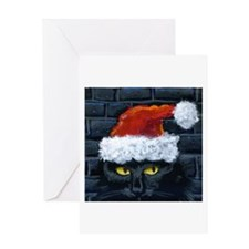 Kitty Claws Secret Santa Greeting Card
