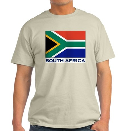 Flag of South Africa Ash Grey T-Shirt