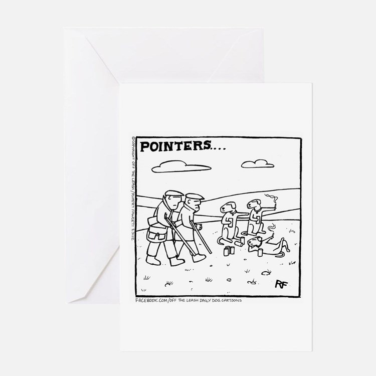 Pointers - Greeting Card