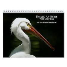 The Art of Birds Wall Calendar