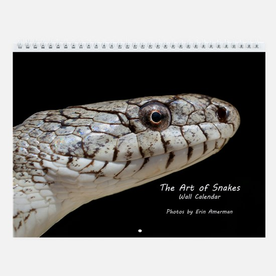 The Art of Snakes Wall Calendar