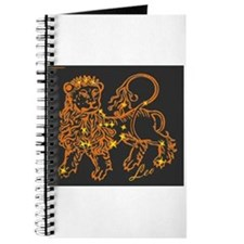 Leo Astrological Star Chart Journal
